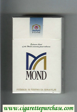 Mond cigarettes hard box