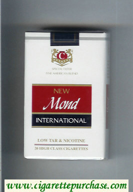 Mond New International Special Filter Fine American Blend cigarettes soft box