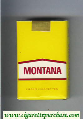 Montana Cigarettes soft box