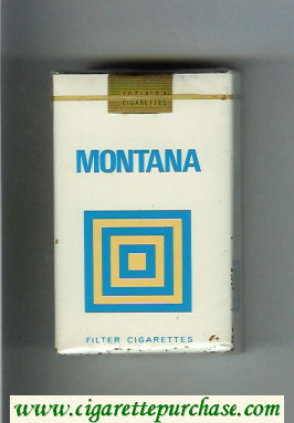 Montana Filter Cigarettes soft box
