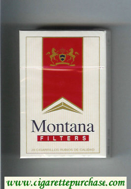 Montana Filters Cigarettes hard box