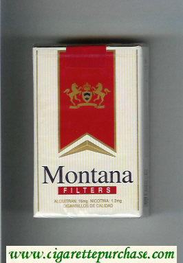Montana Filters Cigarettes soft box