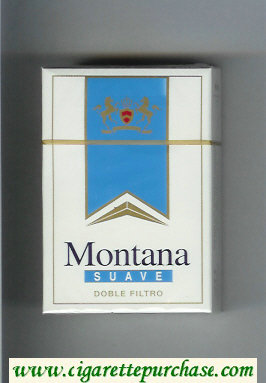 Montana Suave Doble Filtro Cigarettes hard box
