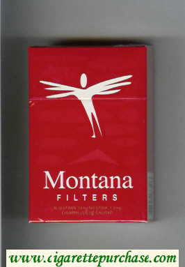 Montana Cigarettes Filter hard box