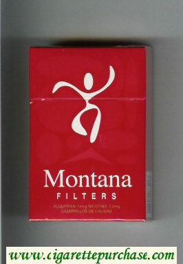 Montana Filter hard box Cigarettes