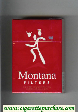 Montana hard box Filter Cigarettes