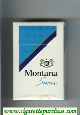 Montana Suave Cigarettes hard box