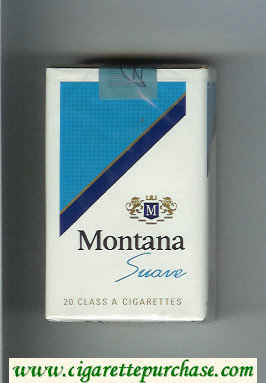 Montana Suave Cigarettes soft box