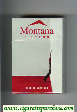 Montana cigarettes Filters Edicion Limitada hard box