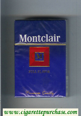 Discount Montclair M Full Flavor Cigarettes hard box