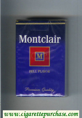 Discount Montclair M Full Flavor Cigarettes soft box
