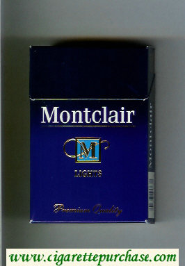 Discount Montclair M Lights Cigarettes hard box