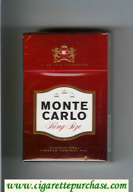Monte Carlo cigarettes hard box