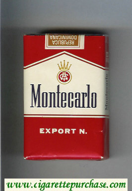 Montecarlo Export N. cigarettes soft box