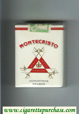 Montecristo soft box cigarettes