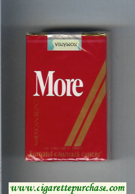 Discount More American Blend cigarettes soft box