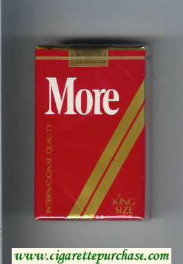 More cigarettes soft box