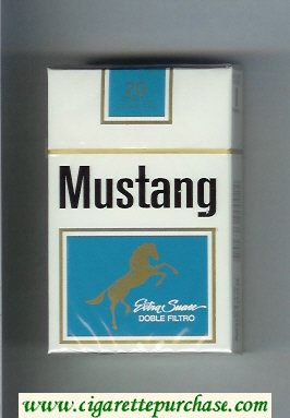 Discount Mustang Extra Suave Doble Filtro cigarettes hard box
