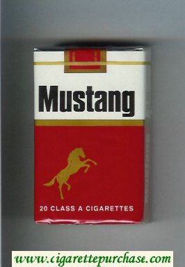 Discount Mustang soft box cigarettes