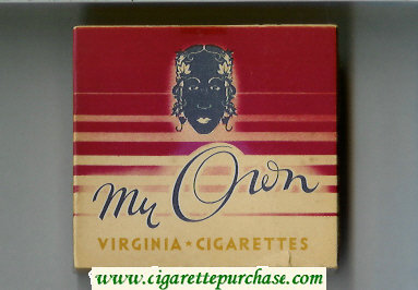 Discount My Own Virginia - Cigarettes wide flat hard box