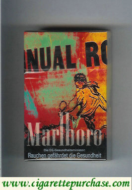 Marlboro 19 cigarettes collection design 1 hard box