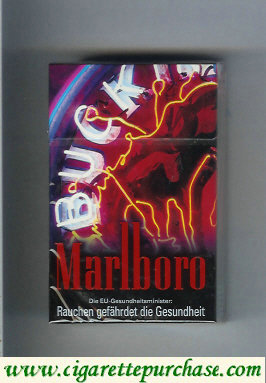Marlboro 19 filter cigarettes collection design 1 hard box