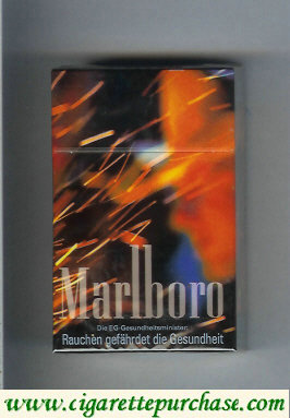 Marlboro 20 filter cigarettes collection design 1 hard box