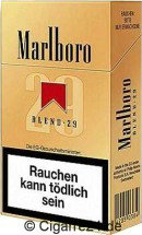 Marlboro 29 cigarettes hard box
