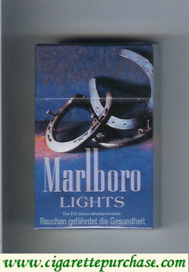 Discount Marlboro Cigarettes Lights hard box