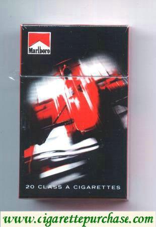 Discount Marlboro Cigarettes collection design Racing Edition hard box