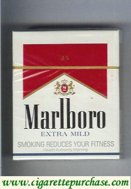 Discount Marlboro Extra Mild 25 cigarettes hard box