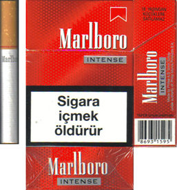 Marlboro Intense cigarettes hard box