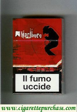 Discount Marlboro King Size cigarettes collection design 2 hard box