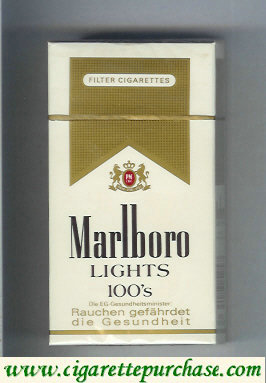 Discount Marlboro Lights 100s cigarettes hard box