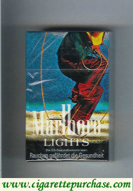 Discount Marlboro Lights Filter cigarettes hard box