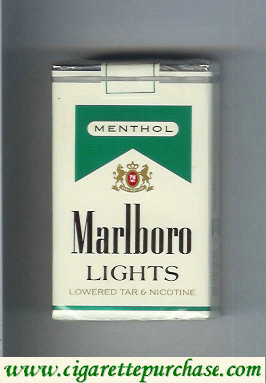 Marlboro Lights Menthol cigarettes soft box
