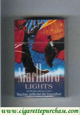 Discount Marlboro Lights hard box cigarettes