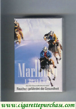 Discount Marlboro Lights hard box filter cigarettes