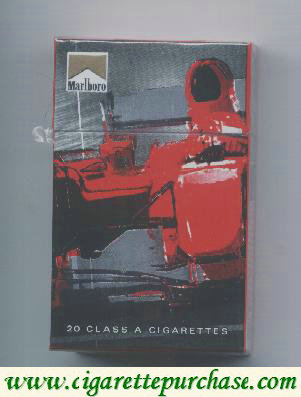 Discount Marlboro Limited Edition Design F1 2.007 red cigarettes hard box