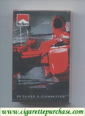Discount Marlboro Limited Edition Design F1 2.007 red hard box cigarettes