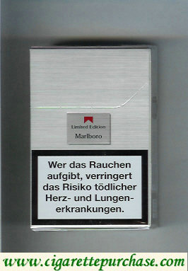 Marlboro Limited Edition cigarettes hard box