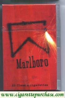 Discount Marlboro MasterWork Series red brazilian version cigarettes hard box