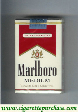 Marlboro Medium cigarettes soft box