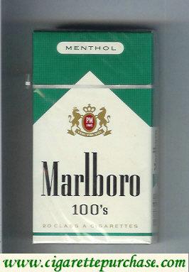Discount Marlboro Menthol 100s cigarettes hard box