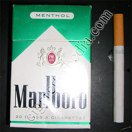 Discount Marlboro Menthol cigarettes hard box