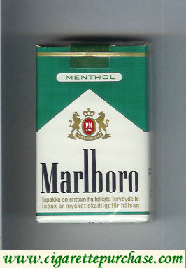 Discount Marlboro Menthol cigarettes soft box