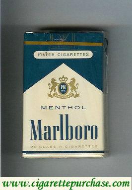 Discount Marlboro Menthol green Marlboro cigarettes soft box