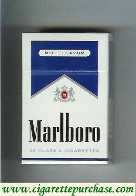 Discount Marlboro Mild Flavor cigarettes hard box