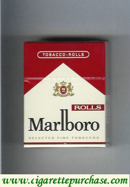Discount Marlboro Rolls cigarettes hard box