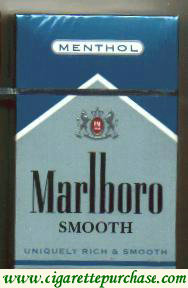 Discount Marlboro Smooth Menthol cigarettes hard box